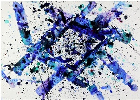 untitled (l. a.) by sam francis