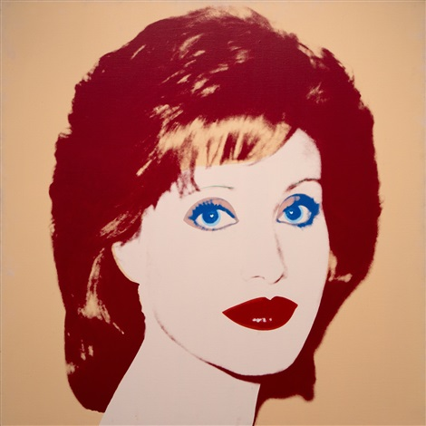 lorna luft by andy warhol