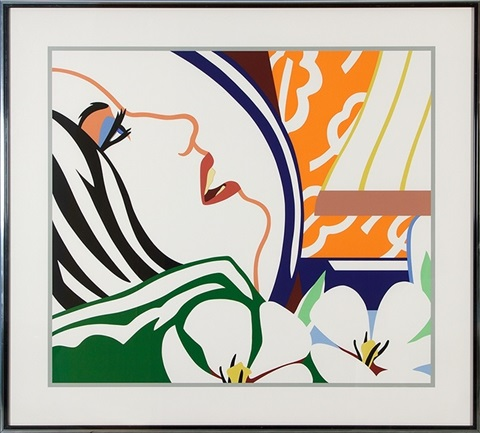 bedroom face by tom wesselmann