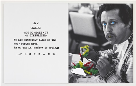 scene take grubbing by john baldessari