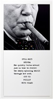 scene ( ) / take ( ) : cigar by john baldessari