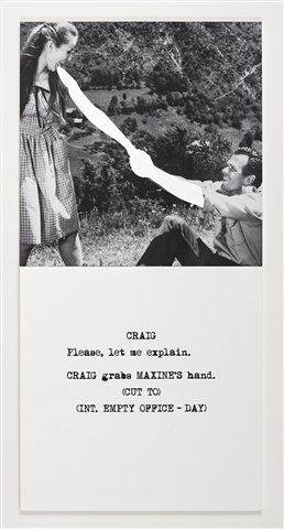 scene ( ) / take ( ) : locked hands by john baldessari