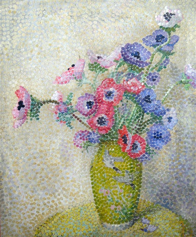 still life with flowers by agnes hope joseph