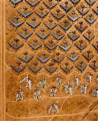 guillotined b-52 bombers at the 'bone yard', tucson, arizona, usa, 1994 by alex s. maclean