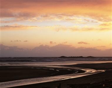 long beach sunset by roberta bondar