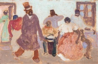candombe by pedro figari