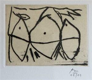 hollow men (1) by robert motherwell