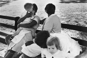 time of change (nannies with children) by bruce davidson