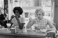 time of change (two women at lunch counter) by bruce davidson