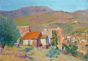 maisons à mont ventoux by hippolyte petitjean