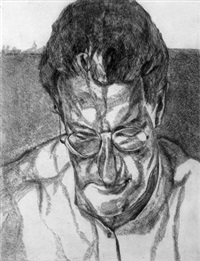 the painter's doctor by lucian freud