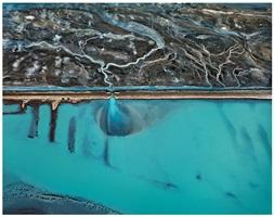 erro prieto geothermal power station, baja, mexico by edward burtynsky