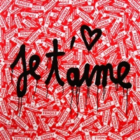 je t'aime by mr. brainwash