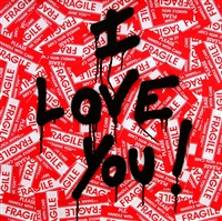 i love you by mr. brainwash