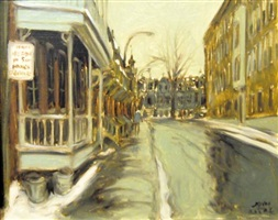 rue arcade montreal by john geoffrey caruthers little