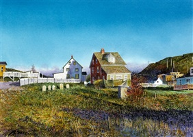 red house, trinity bay by barry mccarthy
