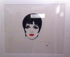 liza minelli by andy warhol