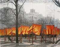 the gates (project for central park, nyc) by christo and jeanne-claude