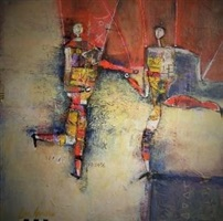 dancing puppets by earl hamilton