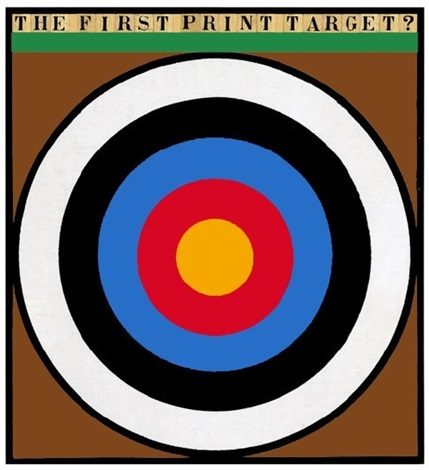 the first print target by peter blake