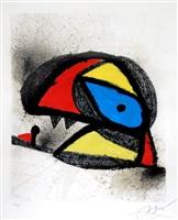 affiche pour l'exposition 'homenatge a j. torres clavé (poster for the exhibition 'homenatge a j. torres clavé) by joan miró