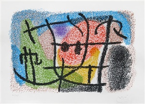 """catalogue of the exhibition """"cartones,"""" by joan miró"""