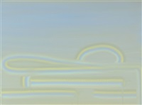 pale blue (pipeline series) by wanda koop