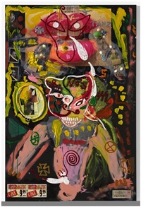 baby face im stahl by jonathan meese