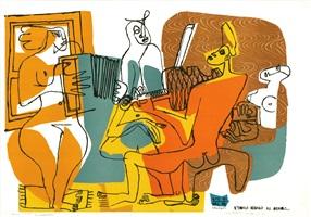 les musiciennes by le corbusier
