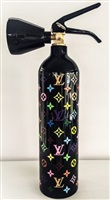 lv multicolor (black background) by niclas castello