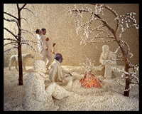 raining popcorn by sandy skoglund
