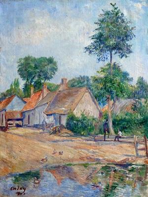 auvers - sur - oise by frédéric samuel cordey