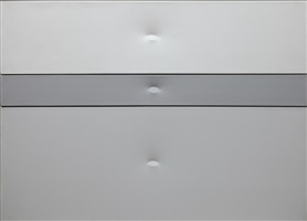 trittico 3 ovali grigi by turi simeti