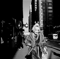 chicago (woman with pearls) by vivian maier
