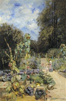 home garden at plankenberg by marie egner