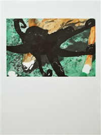 deer and octopus by john baldessari