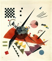 """orange"" by wassily kandinsky"