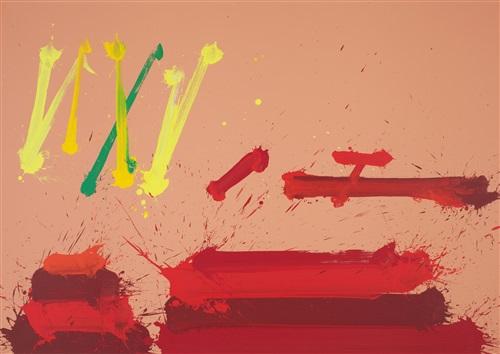 la battaglia di san romano, london red by markus prachensky