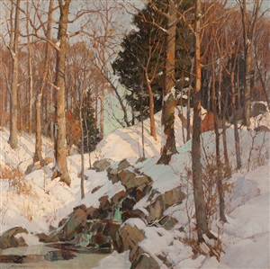 winter's jewels by frederick j. mulhaupt