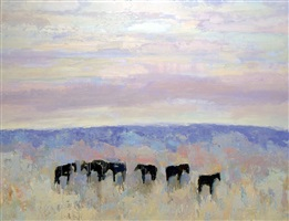 arco horses #11 by theodore waddell