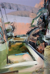 empty swimming pool by david brewster