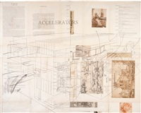 accelerators drawings # 1262, 1263, 1264, 1265 by james drake