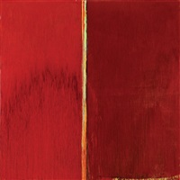 red and red by pat steir