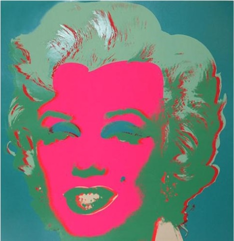 marilyn fs ii.30 by andy warhol