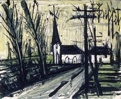eglise by bernard buffet