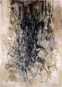 c.r number 127 by zao wou-ki