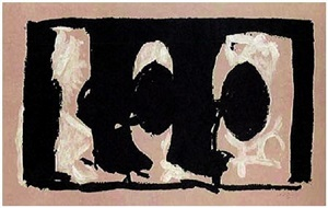 elegy study i by robert motherwell