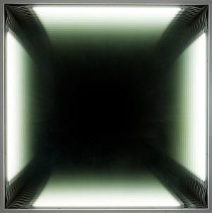 large white hole by iván navarro