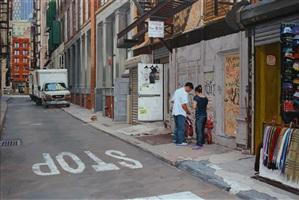 cortlandt alley by vincent giarrano