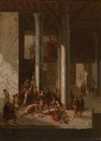 l'ecole coranique / the koranic school by gaspard joseph pit jules starck